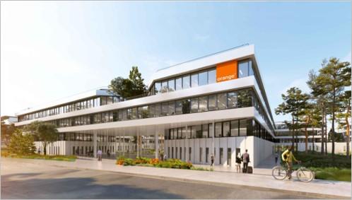 Aménagement du bâtiment Orange à MONTPELLIER (34)