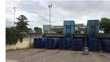 5 stations de transfert des déchets ménagers du Jura à LONS-LE-SAUNIER (39)