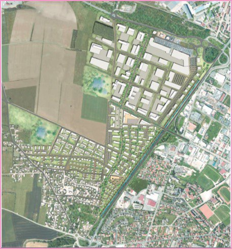 Etude Pré-opérationnelle sur le secteur Ouest d'Ambérieu en Bugey (01)