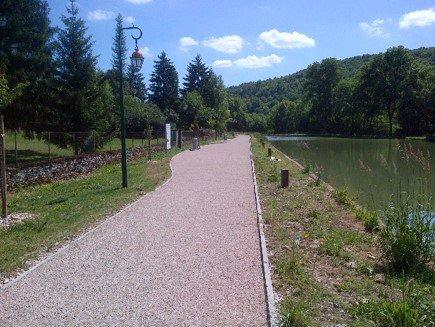 Création d'une halte nautique sur le canal de Bourgogne à La Bussière sur Ouche (21)