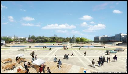 Recomposition urbaine du quartier Hôpitaux-Facultés à MONTPELLIER (34)