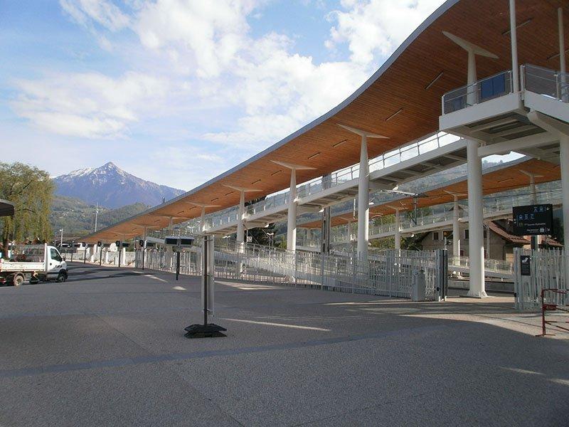 Aménagement du pôle multimodal de la gare à CLUSES (74)