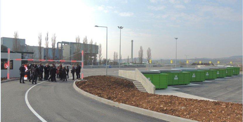 Construction de la nouvelle déchèterie de Dijon (21)