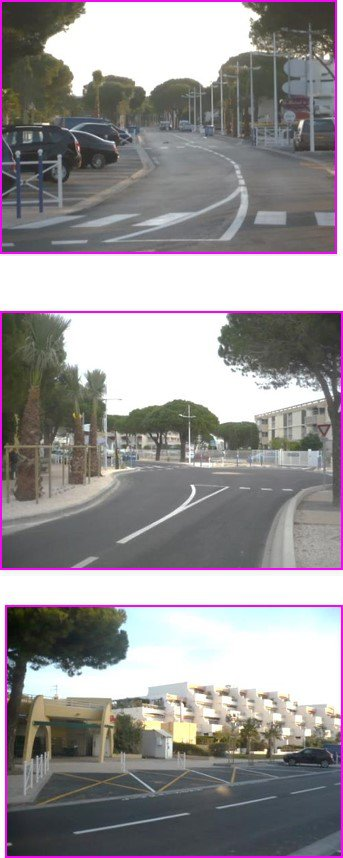 Réaménagement de rues à Port Camargue au GRAU DU ROI (30)