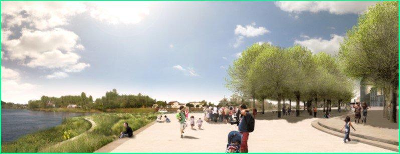 Aménagement des quais de la Dordogne et de l'Isle à LIBOURNE (33)
