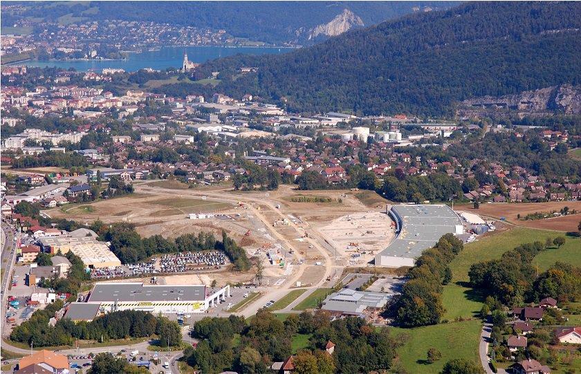 Aménagement  de la ZAC de Périaz à SEYNOD (74)