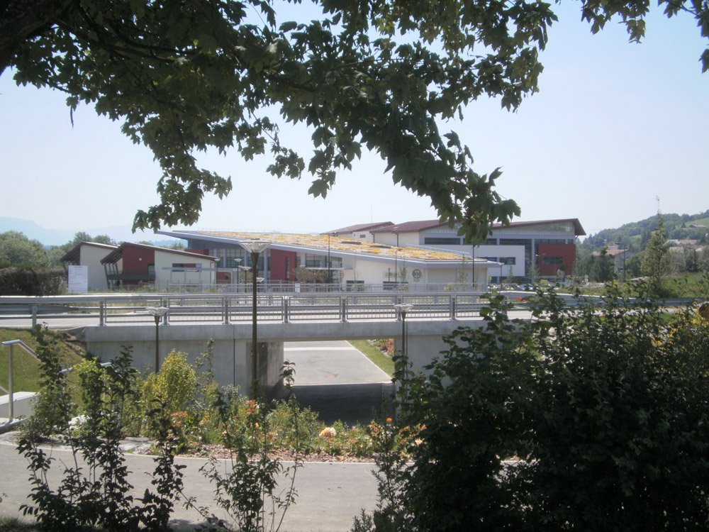 Construction d'un collège et d'un complexe sportif à POISY (74)