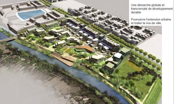 Aménagement de la ZAC Port Marianne – Rive Gauche à MONTPELLIER (34)